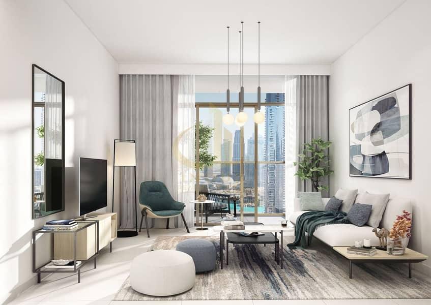 Luxury Lifestyle  | 3BR Burj Crown | Active Rooftop with Burj Khalifa View