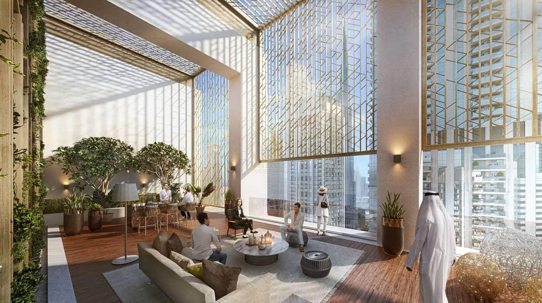 15 Luxury Lifestyle  | 3BR Burj Crown | Active Rooftop with Burj Khalifa View