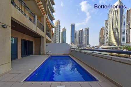 فیلا 3 غرف نوم للبيع في دبي مارينا، دبي - Duplex   Private Pool   Rented