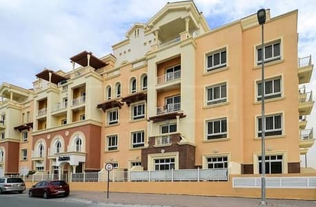 فلیٹ 2 غرفة نوم للبيع في قرية جميرا الدائرية، دبي - EXTRA LARGE  2 BHK  GROUND TERRACE APARTMENT PER SQ.FT ONLY 408/- AED