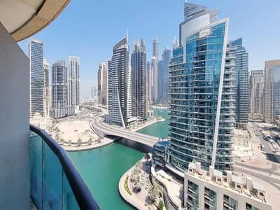 1 Bedroom Apartment for Rent in Dubai Marina, Dubai - Furnished and Upgraded with Marina View | Move In Today