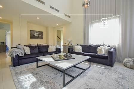 فیلا 5 غرف نوم للبيع في قرية الاتحاد، عجمان - Vacant on Transfer | Single Row | Corner Unit
