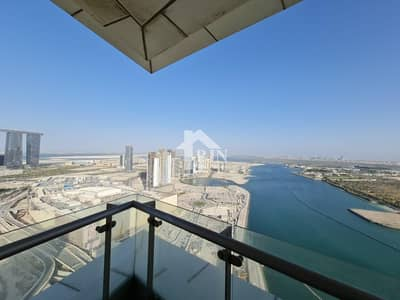 5 Bedroom Penthouse for Rent in Al Reem Island, Abu Dhabi - Dazzling !! 5BR+M Penthouse For Rent In Rak Tower.