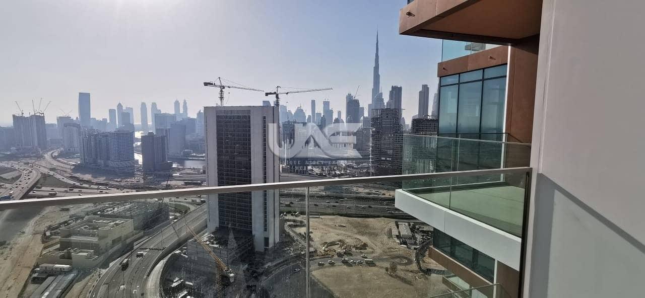 13 Furnished - Burj Khalifa View - Short stay AED 10k