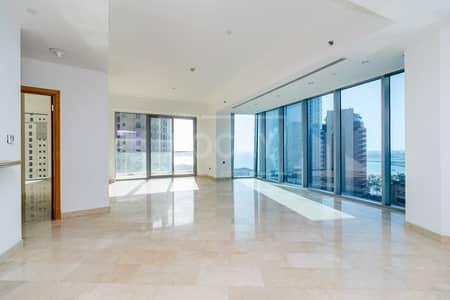 3 Bedroom Apartment for Sale in Dubai Marina, Dubai - 3-Bed   Partial Marina View    Dubai Marina