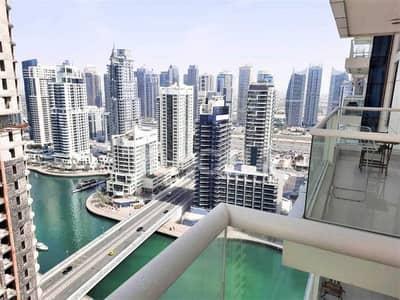 فلیٹ 2 غرفة نوم للايجار في دبي مارينا، دبي - Stunning / Bright / Unfurnished