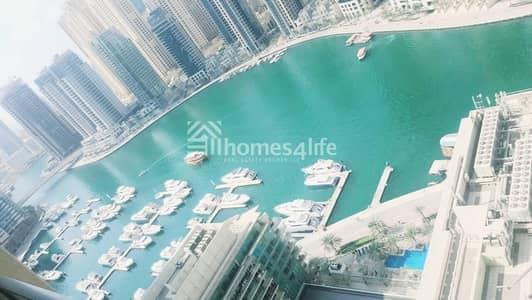 3 Bedroom Flat for Rent in Dubai Marina, Dubai - 3BED + STUDY   MARINA VIEW   CHILLER FREE
