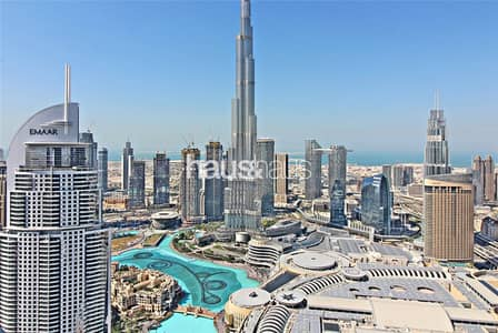 3 Bedroom Apartment for Sale in Downtown Dubai, Dubai - Full Fountain View | High Floor | Fully Furnished