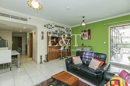 فلیٹ 2 غرفة نوم للبيع في دبي مارينا، دبي - Garden View | Peaceful | VOT | Must See