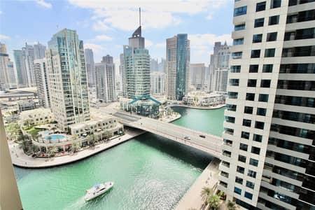 1 Bedroom Apartment for Rent in Dubai Marina, Dubai - Amazing Marina Views | Modern | Spacious