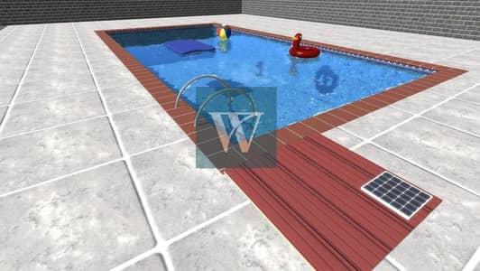 3 Bedroom Villa for Sale in Serena, Dubai - New Listing  | Single Row End Unit |  With a Private Swimming Pool & Auto - Garage