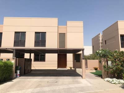 Brand New 4BR Villa Ready to Move with Private Pool and Two Covered Parkings in Al Zahia