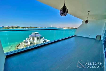 شقة 1 غرفة نوم للبيع في نخلة جميرا، دبي - 1 Bed | Full Sea/Burj View | Beach Access