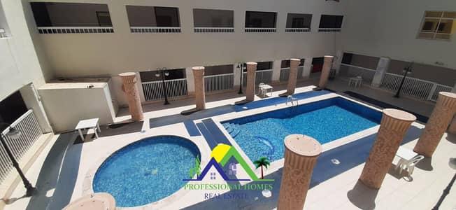 2 Bedroom Flat for Rent in Al Khalidiya, Al Ain - NIce 2BHK with Swimming Pool & Gym @29k