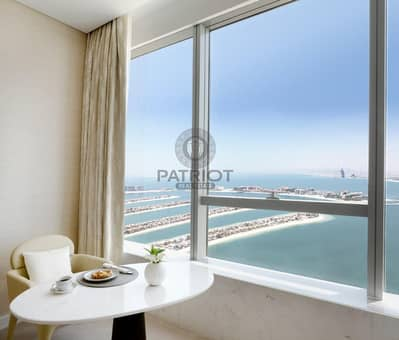 Studio for Sale in Palm Jumeirah, Dubai - Eligible for Investor Visa| Luxury Spacious Furnished Studio With Panoramic  Views