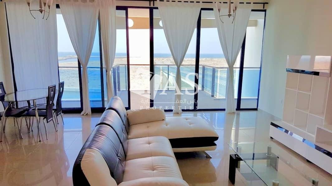 Outstanding | 3 Br Duplex Sea View | Mina Al Arab