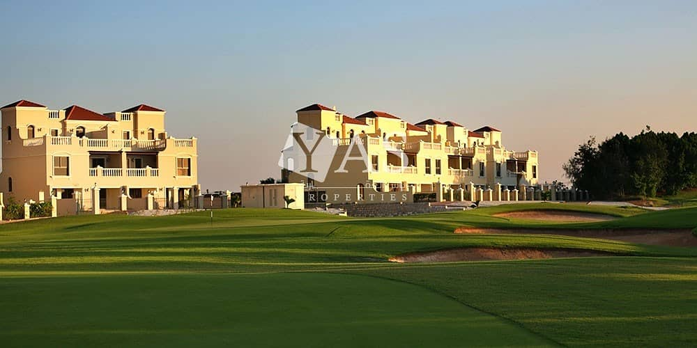 Elegant | 2 Bedroom Townhouse | Sale in Al Hamra Village