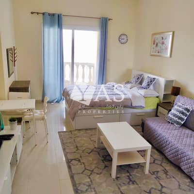 Studio for Rent in Al Hamra Village, Ras Al Khaimah - Well Furnished | Lagoon View | High Floor