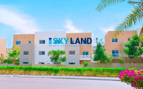 فیلا 4 غرف نوم للبيع في الريف، أبوظبي - Great Location ! 4Beds w/ Study Room and Huge Garden !