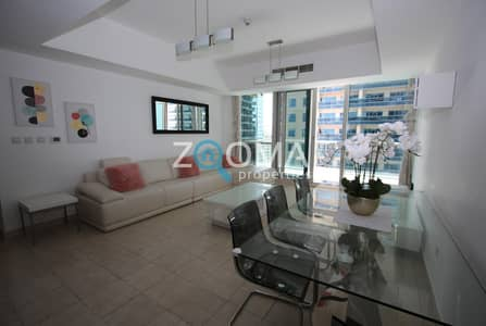 2 Bedroom Apartment for Rent in Dubai Marina, Dubai - Fully Furnished   Available   Marina View