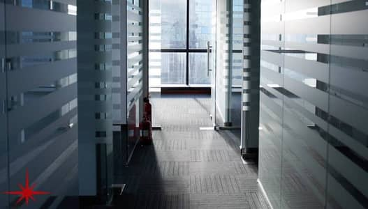 Fitted Office with Glass Partitions and Balcony