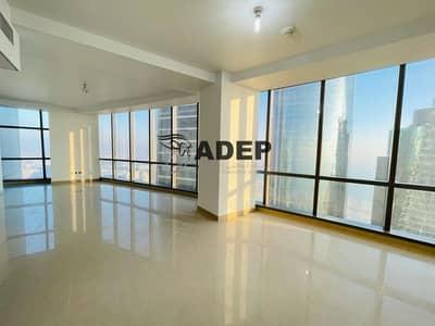 شقة 3 غرف نوم للايجار في شارع الكورنيش، أبوظبي - شقة في برج أوريكس شارع الكورنيش 3 غرف 150000 درهم - 4857530