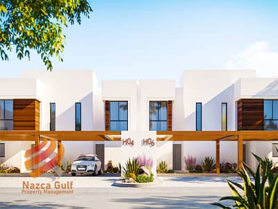 3 Bedroom Townhouse for Sale in Yas Island, Abu Dhabi - Deluxe Living 3 BR Townhouse with World-Class Amenities ! No Commission ! No Hidden Charges !