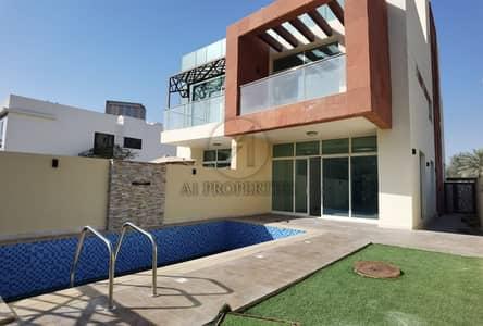 4 Bedroom Villa for Sale in Jumeirah Village Circle (JVC), Dubai - Modern | Vacant | Bright corner villa faced to the park