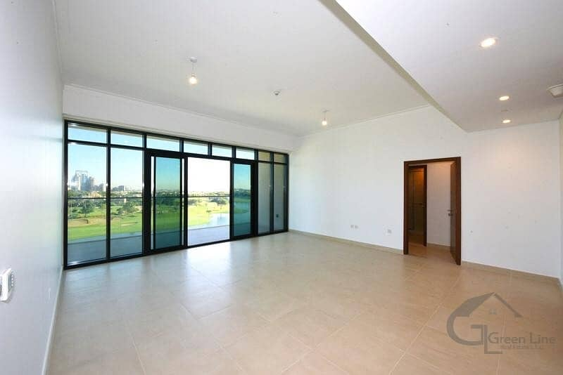 Full Golf View | 3 BR + Maid Room | Biggest layout