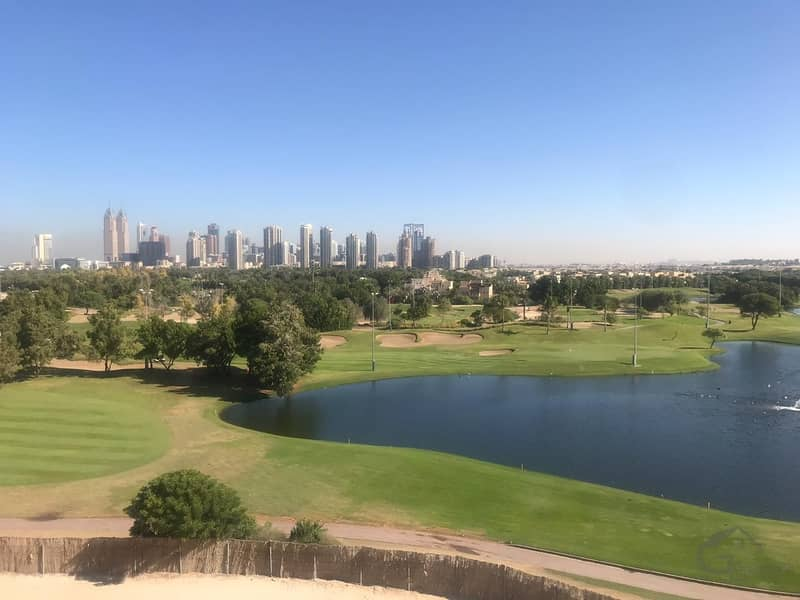 12 Full Golf View | 3 BR + Maid Room | Biggest layout