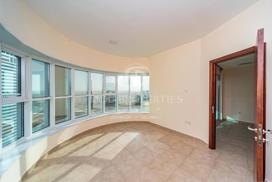 Beautiful Sea View   Middle Floor  Rented  8% ROI