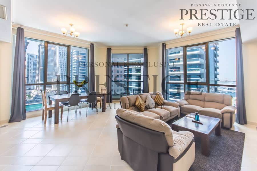 2 2 Bed Marina View | Torch Tower | Balcony | Chiller Free