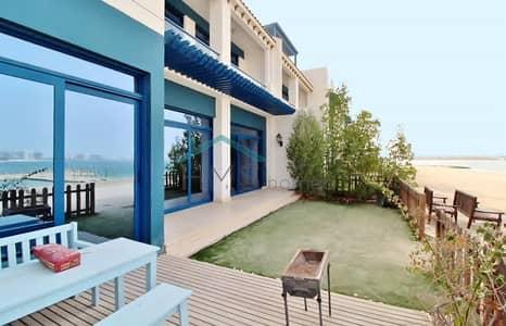 تاون هاوس 5 غرف نوم للايجار في نخلة جميرا، دبي - Townhouse | Palma Residences | Sea and Burj Al Arab View