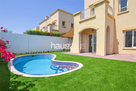 2 Bedroom Villa for Sale in The Springs, Dubai - Vacant | Upgraded | Opposite Lake