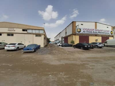 Warehouse for Sale in Ajman Industrial, Ajman - CORNER PLOT WARE HOUSE AND LABOUR CAMP FOR SALE