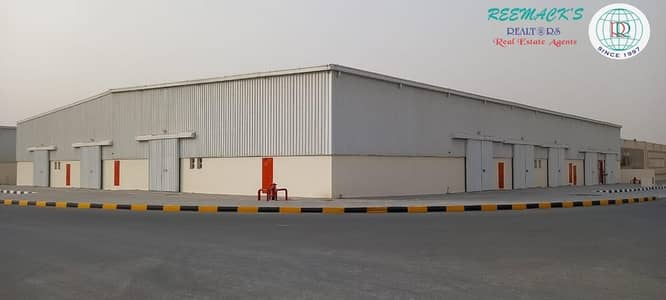 Warehouse for Rent in Al Saja, Sharjah - BRAND NEW WAREHOUSES WITH ATTACHED TOILET IN AL SAJAA AREA