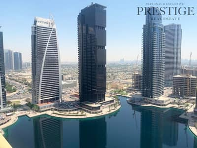 1 Bedroom Apartment for Rent in Jumeirah Lake Towers (JLT), Dubai - High Floor | Balcony w/ Stunning Lake View