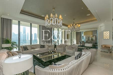 4 Bedroom Flat for Rent in Downtown Dubai, Dubai - Unfurnished| Full Floor Residence| Panoramic Views
