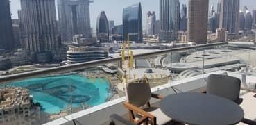 شقة في فندق العنوان وسط المدينة وسط مدينة دبي 2 غرف 320000 درهم - 5066767