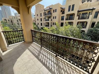 شقة 1 غرفة نوم للايجار في المدينة القديمة، دبي - Spacious|Well Maintained|Community View|Bright Apartment