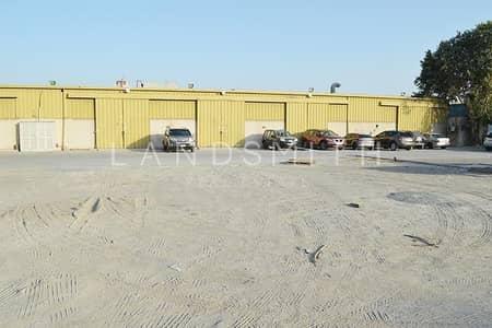 Warehouse for Rent in Al Quoz, Dubai - Prime Location Warehouse Compound | Huge Open Yard
