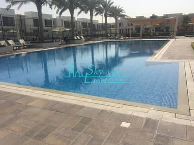 3 Bedroom Villa for Sale in Town Square, Dubai - SINGLE ROW/ NEAR TO PARK & POOL /3 BEDROOMS + MAID