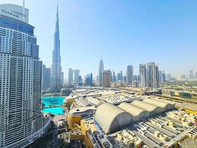 3 Bedroom Flat for Rent in Downtown Dubai, Dubai - Burj Khalifa View   Available Now   Vacant