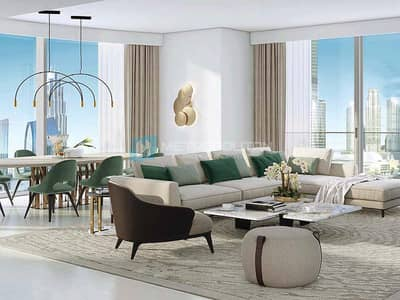 4 Bedroom Flat for Sale in Downtown Dubai, Dubai - Genuine Resale| Signature Living| Very High Floor