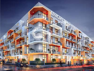 1 Bedroom Apartment for Sale in Jumeirah Village Circle (JVC), Dubai - Binghatti Mirage | 30% 0ff  Full Purchasar Price