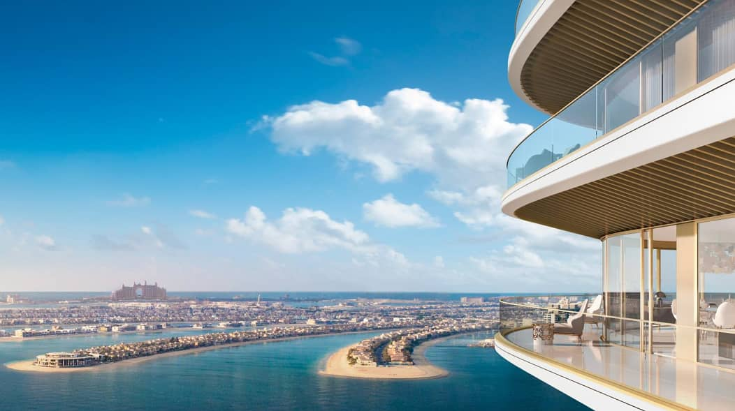 2 Luxury Apartments at Emaar Beachfront   | Full View Of the Sea  | Palm Jumeirah View | 5 years Installments