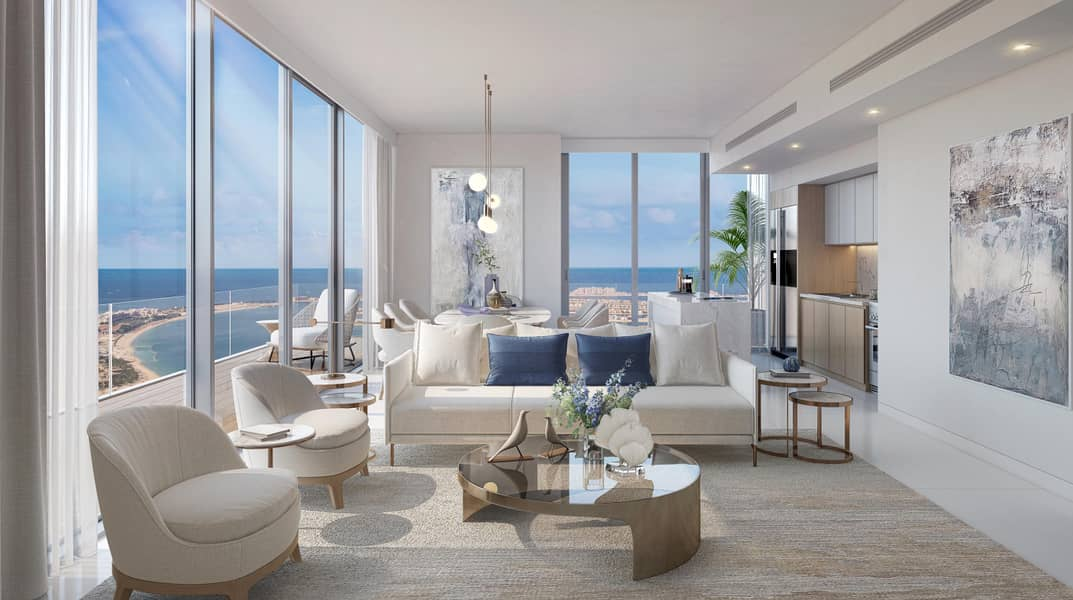 11 Luxury Apartments at Emaar Beachfront   | Full View Of the Sea  | Palm Jumeirah View | 5 years Installments