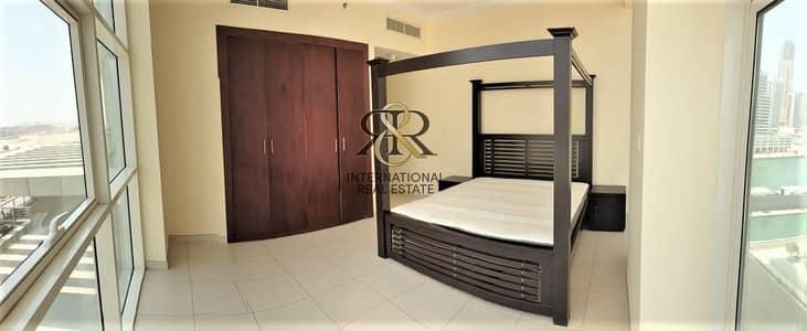 فلیٹ 1 غرفة نوم للبيع في الخليج التجاري، دبي - Partial Dubai Canal and Burj Khalifa View with Balcony