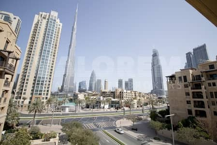 1 Bedroom Flat for Sale in Old Town, Dubai - Huge Layout | Stunning View of Burj Khalifa