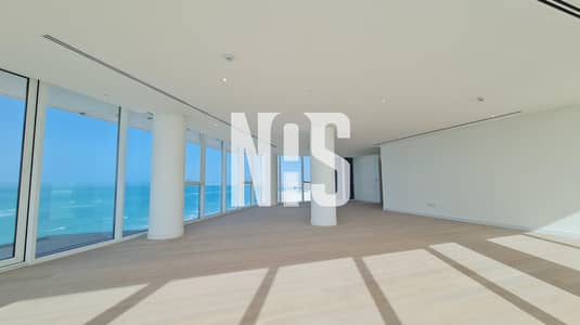 4 Bedroom Apartment for Rent in Saadiyat Island, Abu Dhabi - Brand New Apartment with Spectacular Sea View